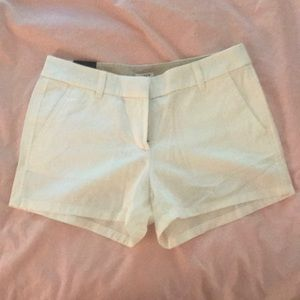 White J.Crew Shorts BRAND NEW W TAGS